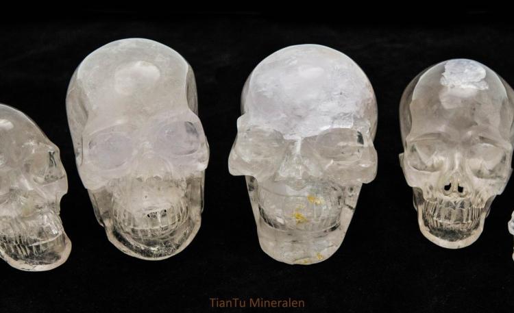 Bergkristallen Schedels