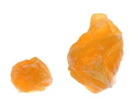oranje calciet ruw