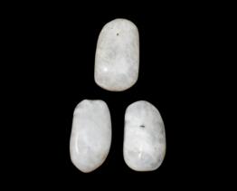 witte Labradoriet hanger