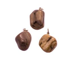 Versteend hout hangertje