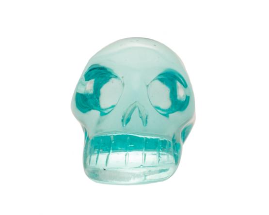 aqua obsidiaan schedel