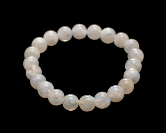 witte maansteen armband